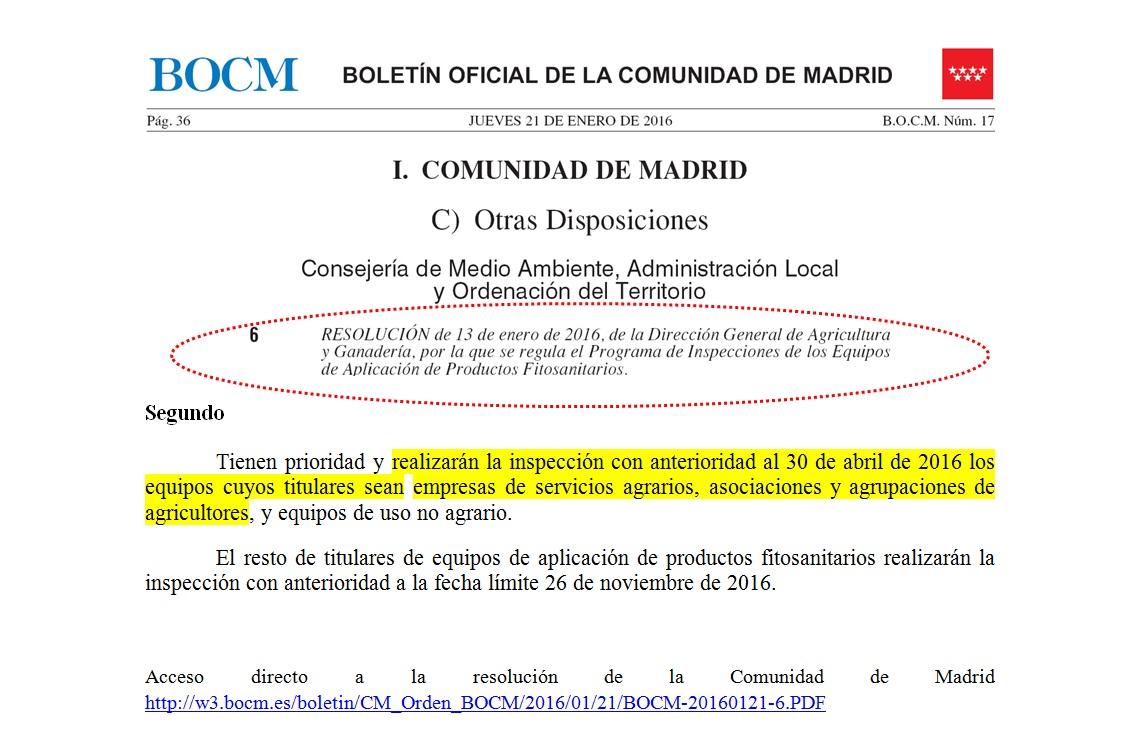 Iteaf empresas de servicios y sector agrario o cooperativas agrarias asociaciones en Comunidad e Madrid