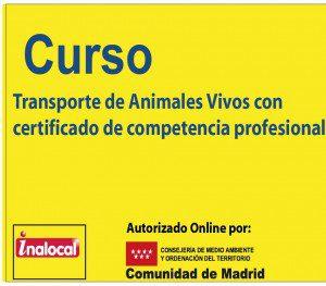 Transporte de animales vivos curso Online