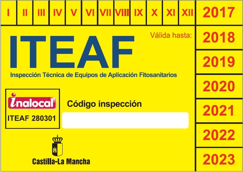Iteaf Castilla La Mancha inspecciones equipos INALOCAL