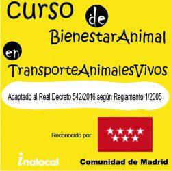 Formación para transportar animales vivos legalmente según Real Decreto 542/2016