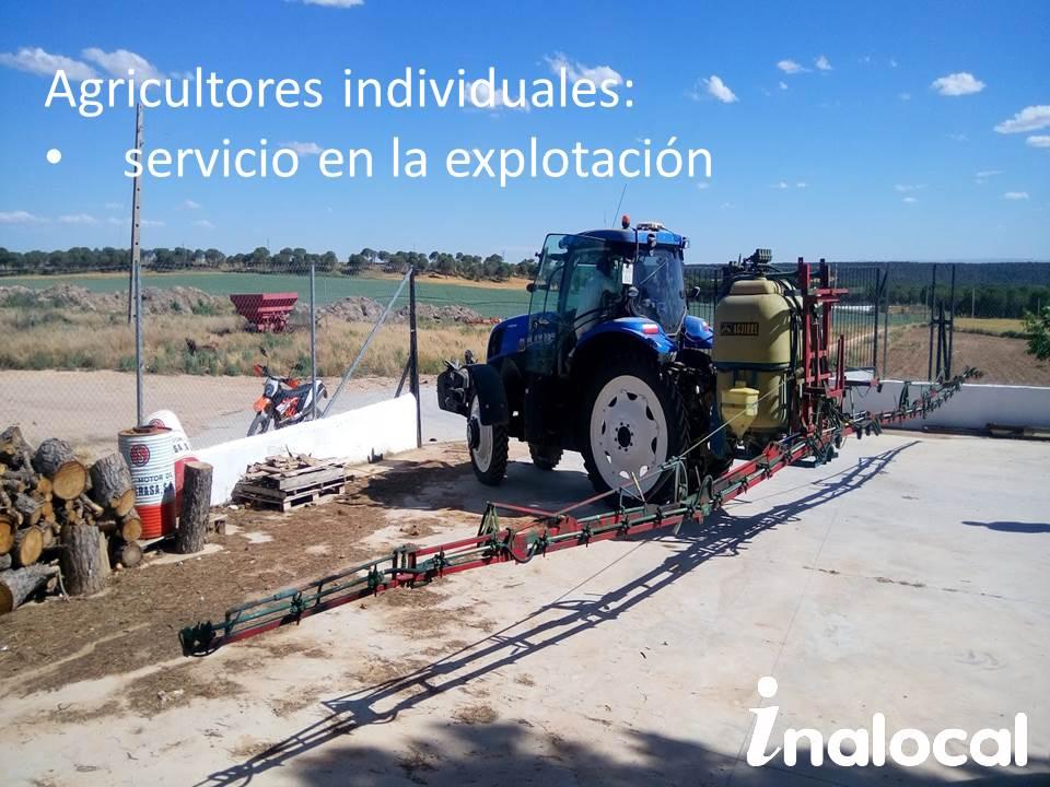 ITEAF en finca de agricultor cebollero en Albacete
