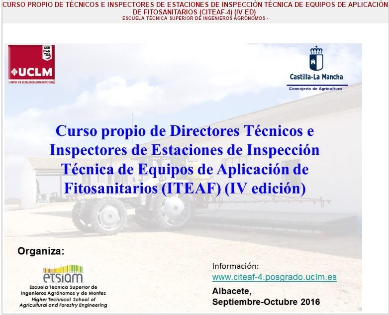 curso iteaf universidad de albacete