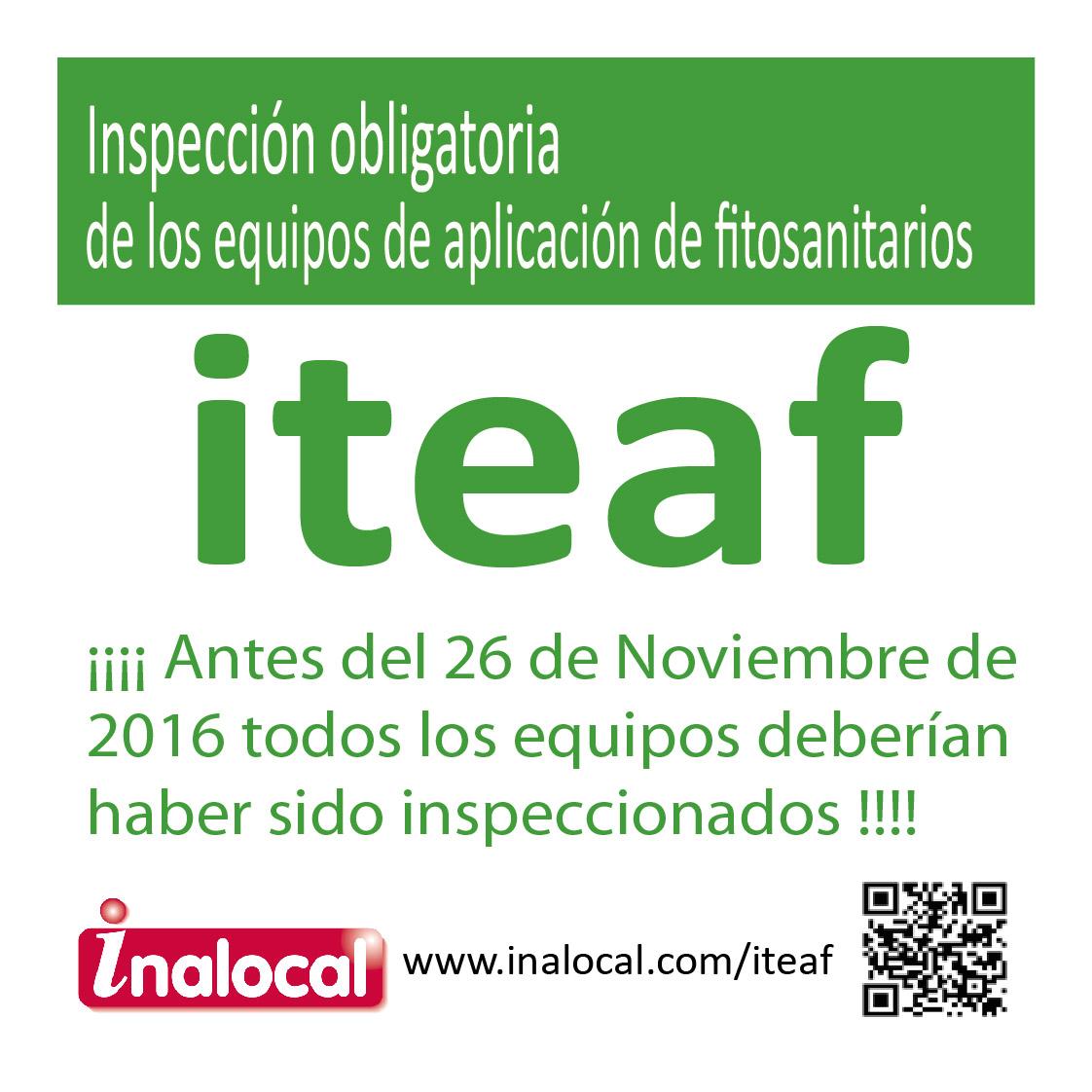 ITEAF en Comunidad de Madrid castilla la mancha andalucia inalocal