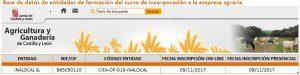 Curso incorporación a la empresa agraria por jóven agricultor en Castilla y Leon y Madrid