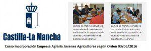 Curso Incorporacion empresa agraria Castilla La Mancha