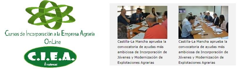 Curso Online para incorporación, primera instalación, modernización de explotaciones ...